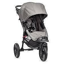 Baby Jogger City Elite Grey Standard Single Seat Stroller