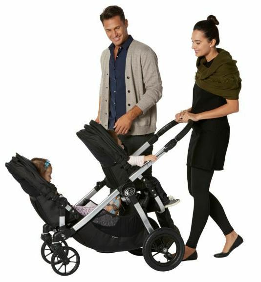 Baby Jogger Select Black Single Stroller