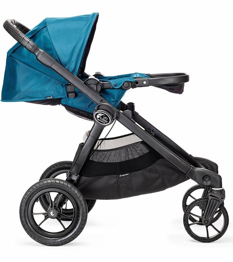 Baby Jogger Select Twin Tandem Double Stroller Teal w/ NEW