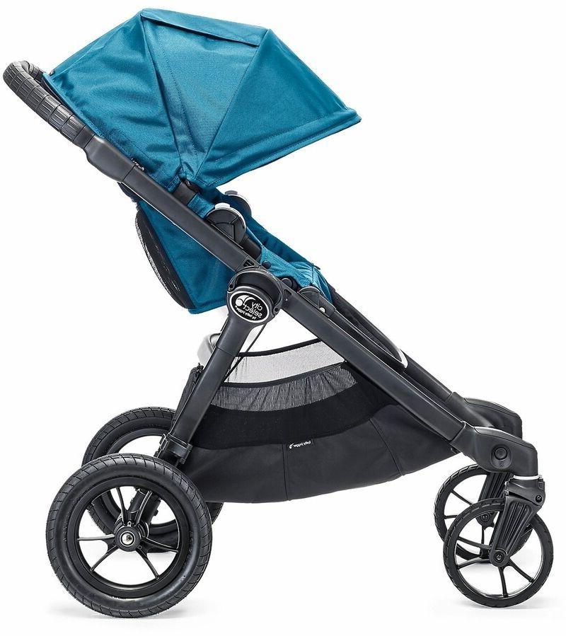 Baby Jogger Twin Tandem Teal w/ NEW