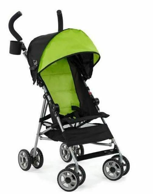 Kolcraft Cloud Lightweight Umbrella Stroller with Canopy, Spring