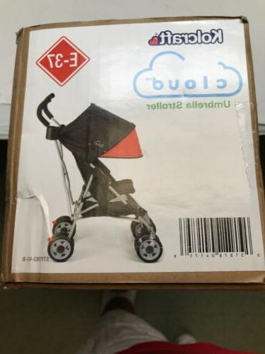 cloud umbrella stroller scarlet red baby push