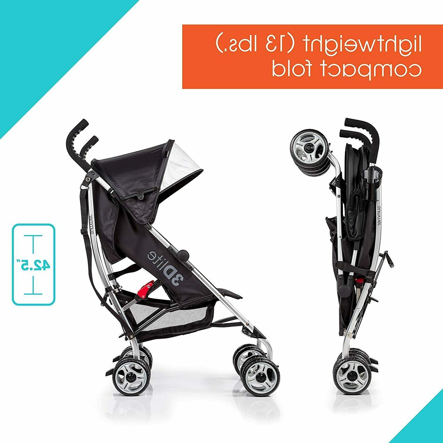 Convenience Stroller Lightweight Baby Stroller with Frame compact
