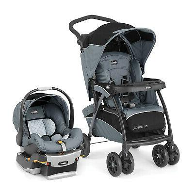 cortina cx iron gray travel system open