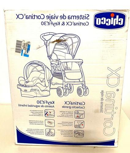 Chicco System Stroller, Iron-