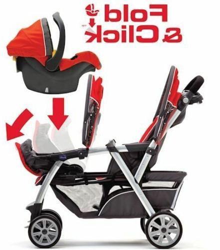 Chicco Together Twin Baby Double NEW