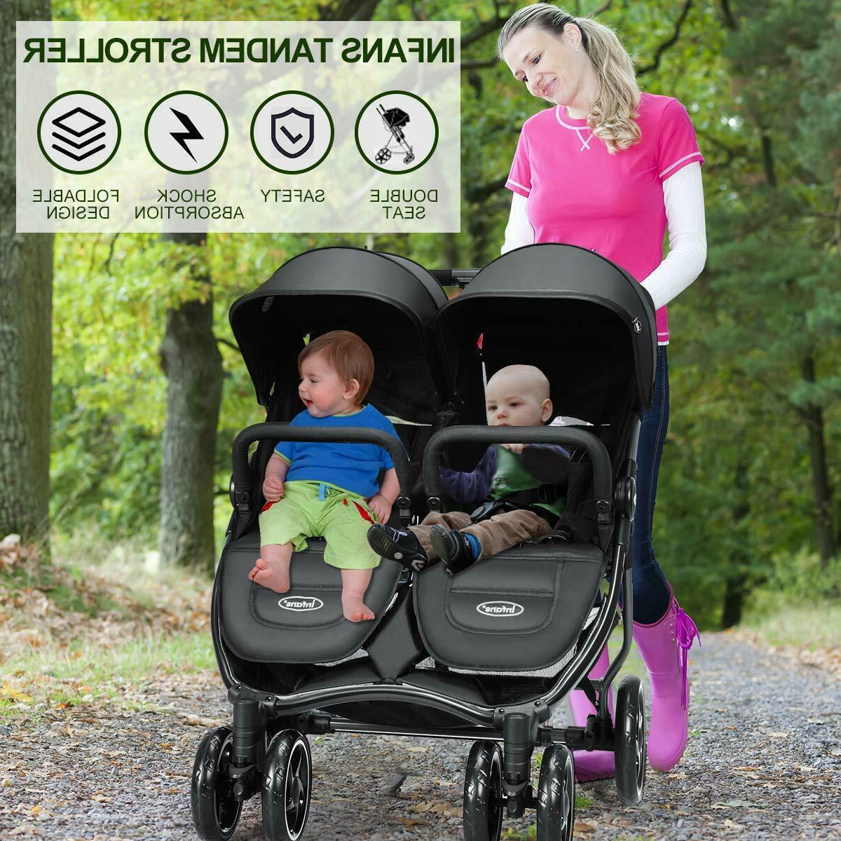 Double Folding Twin Seat Safety Harness
