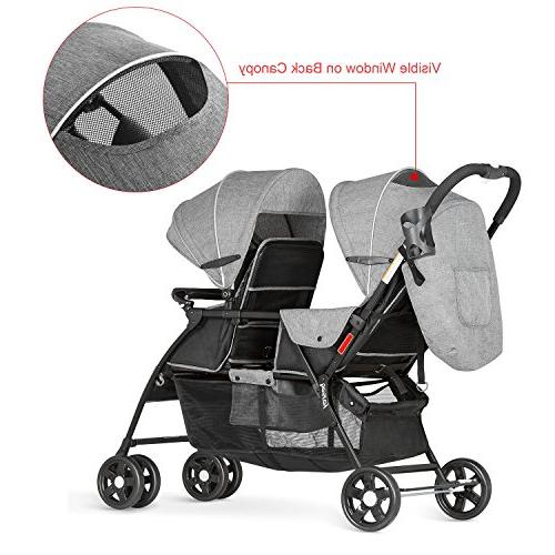 Besrey Double Connect Strollers