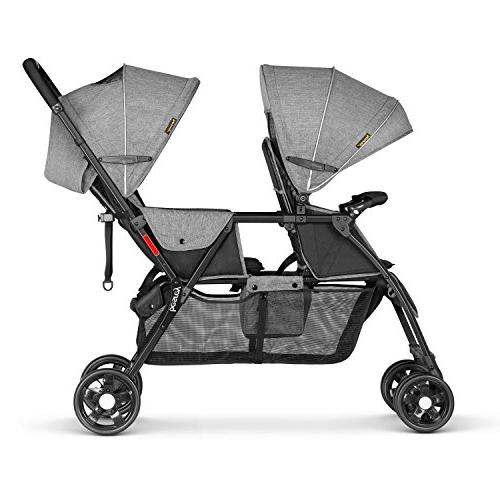 Besrey Double Baby and Toddler-Tandem Duo Connect Strollers