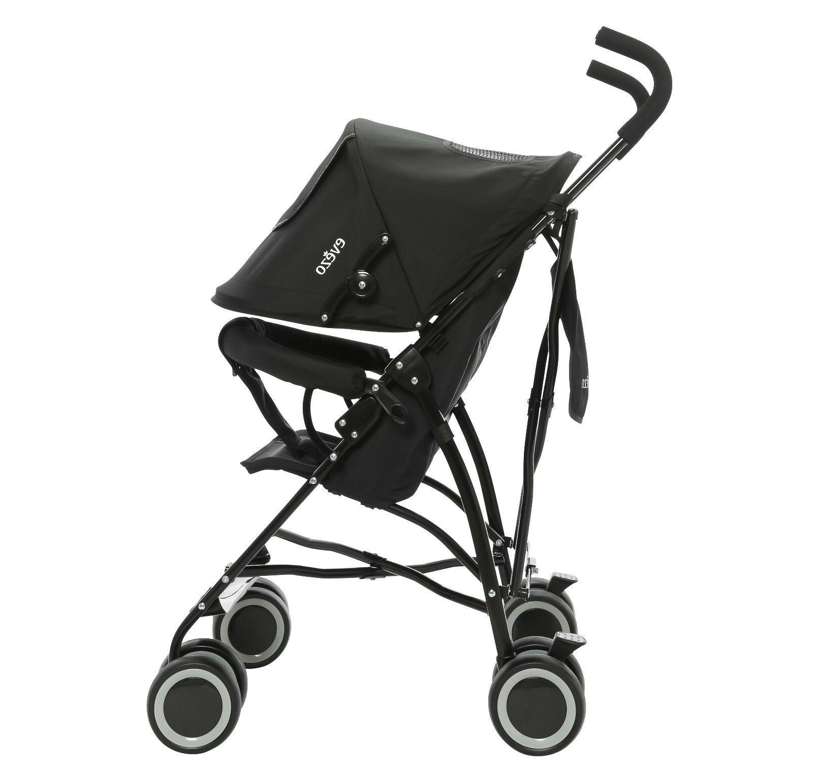 evezo compact lightweight baby stroller with 5