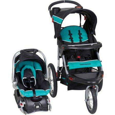 Baby Travel System Canopy Cup Holders Infant Seat