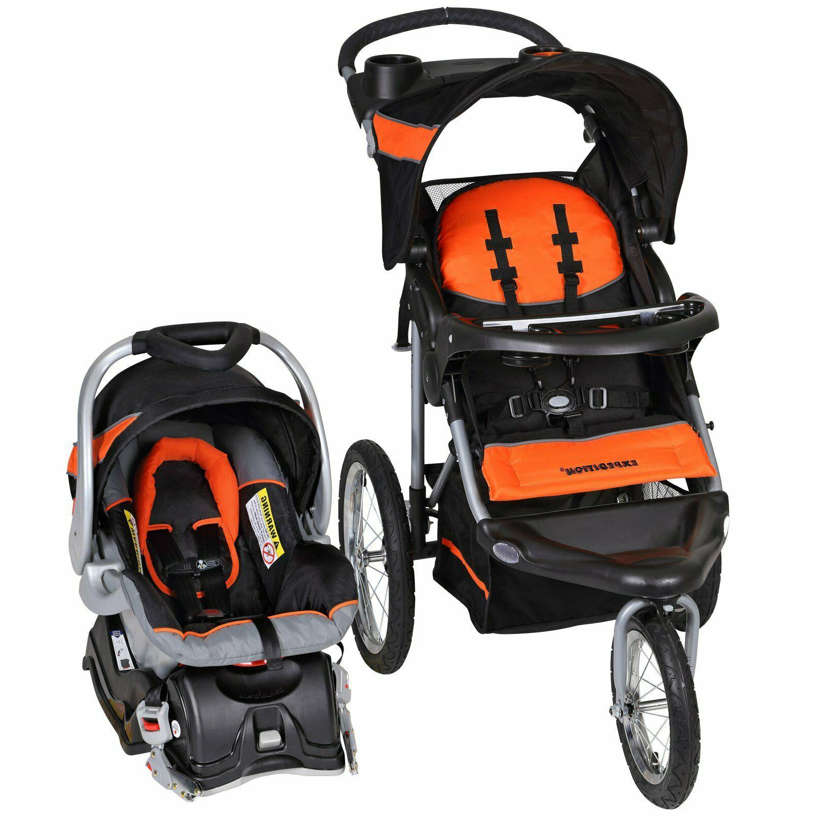 Baby Expedition Jogger Travel System Canopy Holders Car