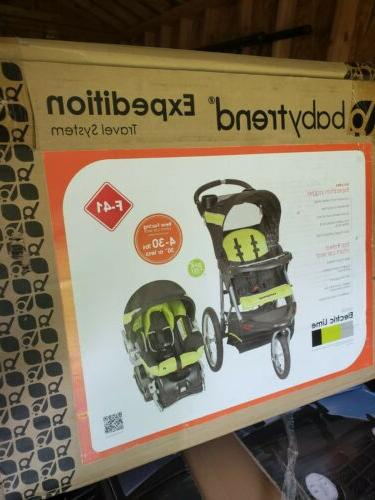 Baby Trend Travel Lime