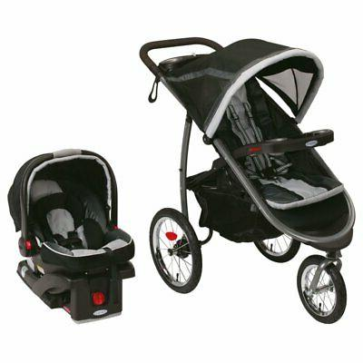 fastaction fold jogger click connect baby travel