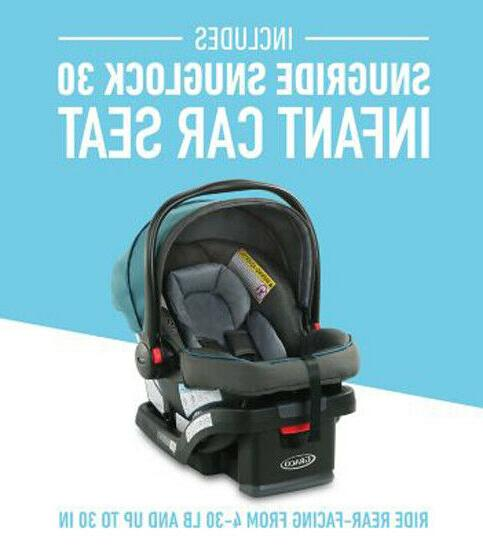 Graco FastAction Travel SnugRide 30 Seat Seaton