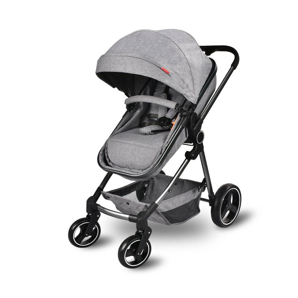 foldable baby stroller convertible bassinet reclining stroll