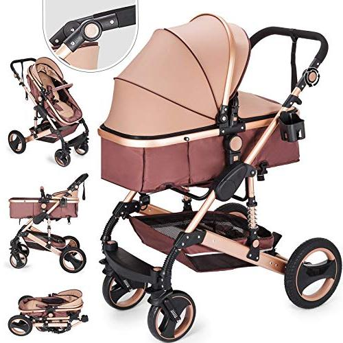 foldable luxury stroller system