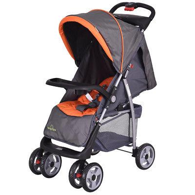 Foldable Baby Kids Stroller Infant Pushchair