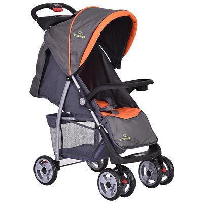 Foldable Baby Kids Stroller Newborn Buggy Pushchair