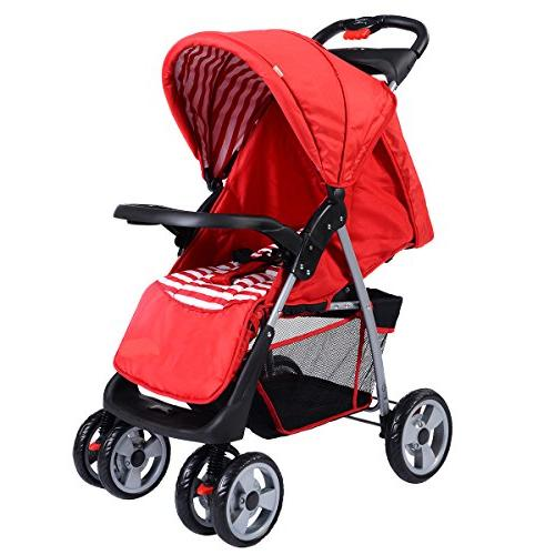 foldable stroller buggy pushchair system