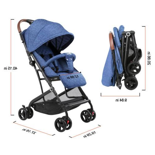 Baby Carriage Buggy Lightweight for
