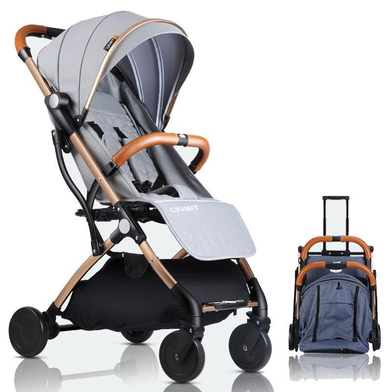 <font><b>Baby</b></font> <font><b>Stroller</b></font> Plane <font><b>Lightweight</b></font> Pushchair 5 GIFTS,3USD COUPONS