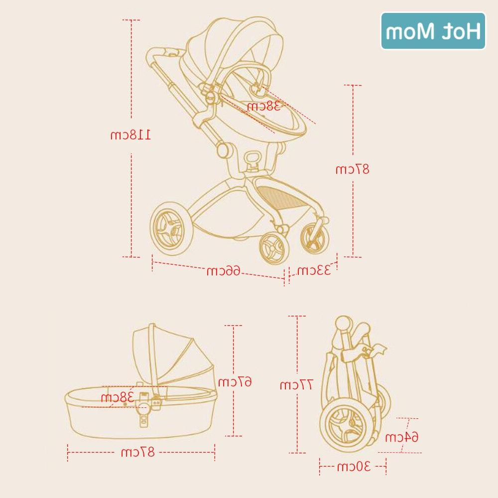 1,Hot High bassinet in 2019 Carriage Newborns