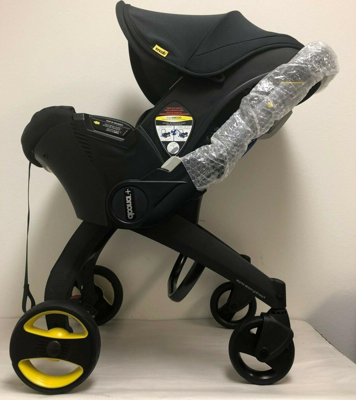 Doona Infant Seat Stroller Black with NEW
