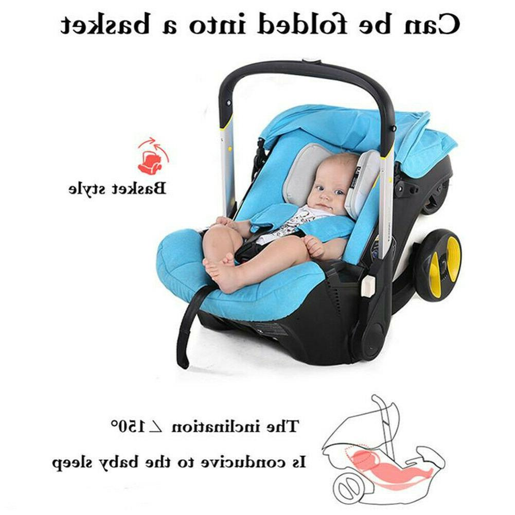 Infant Safety Seat Carriage Combo Pram