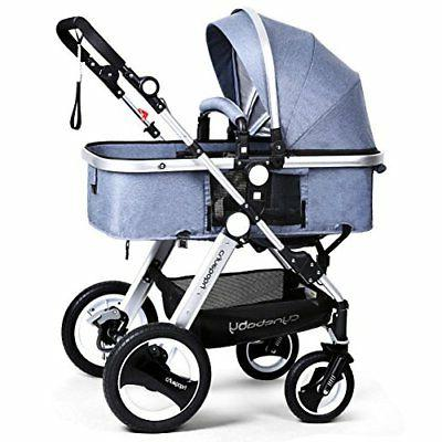 Infant Toddler Carriage - Cynebaby Compact Pram add Tray