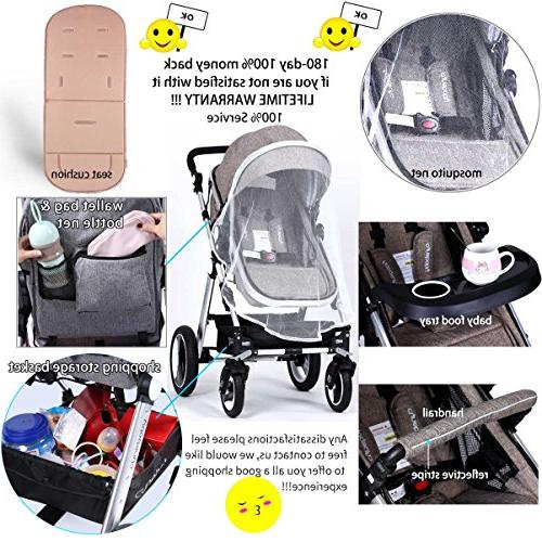 Infant Toddler Carriage - Cynebaby Compact add Holder Stroller