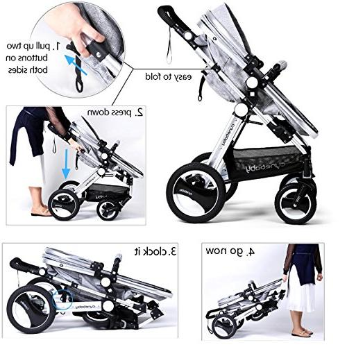 Infant Carriage - Cynebaby Pram add Cup Holder Footmuff Stroller Tray