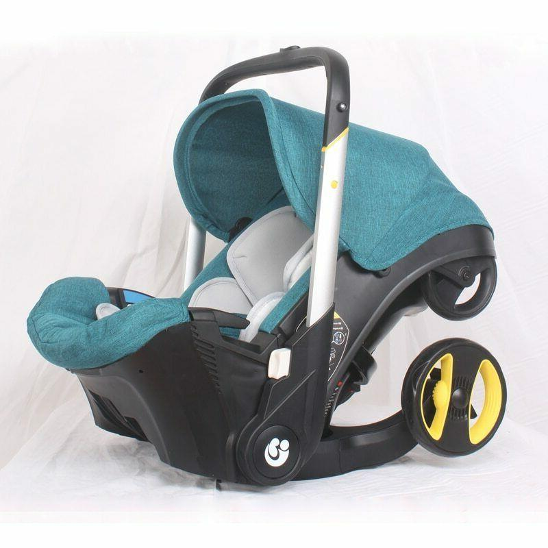 Safety Seat Carriage Bassinet Combo Newborn Pram 0-24M