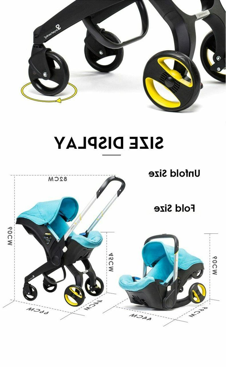 Infant Safety Carriage Combo Newborn Pram