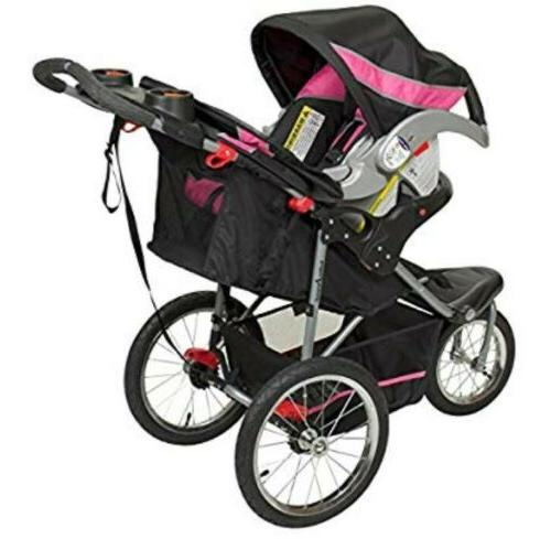 jogger stroller expedition travel system bubble gum