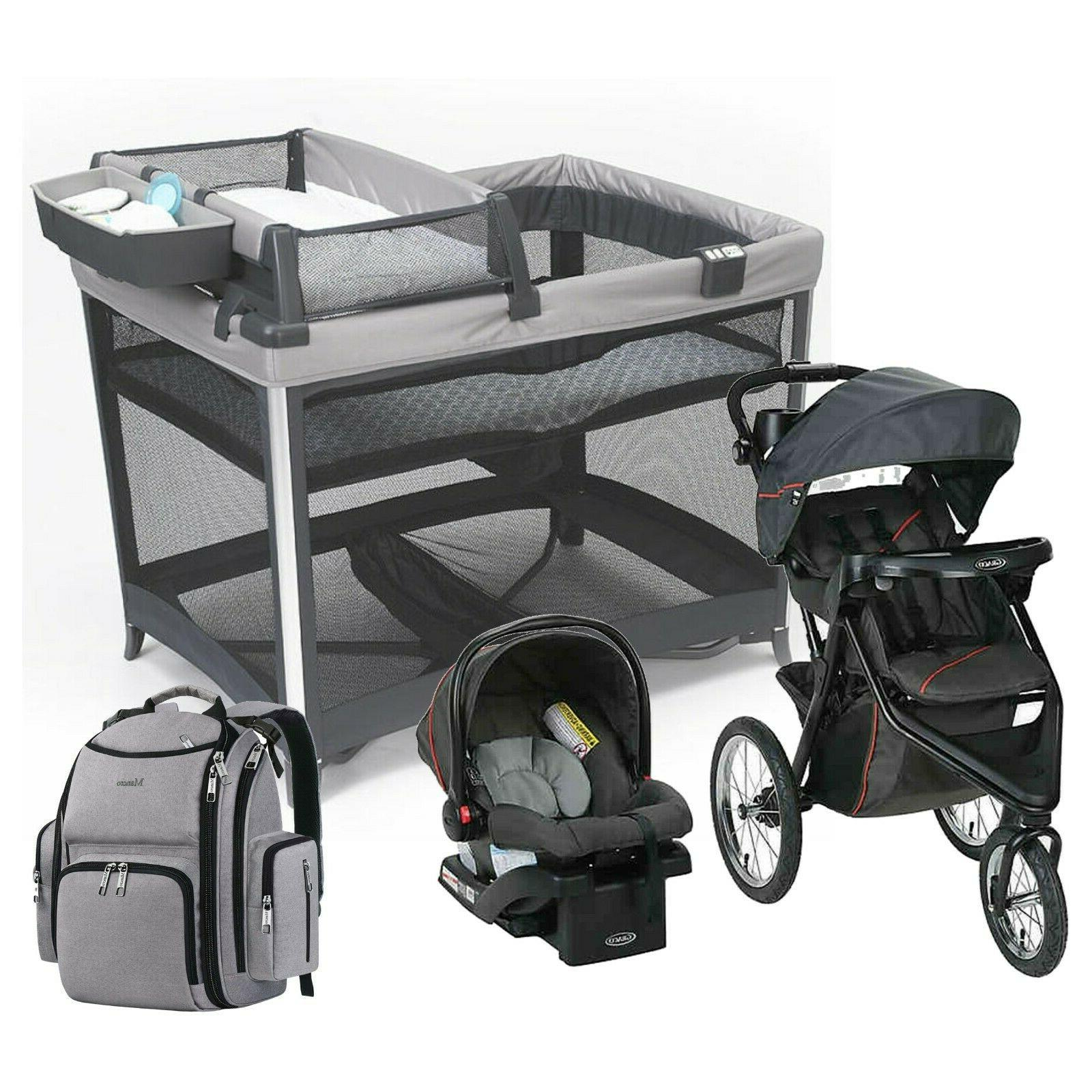 jogger stroller with car seat travel system
