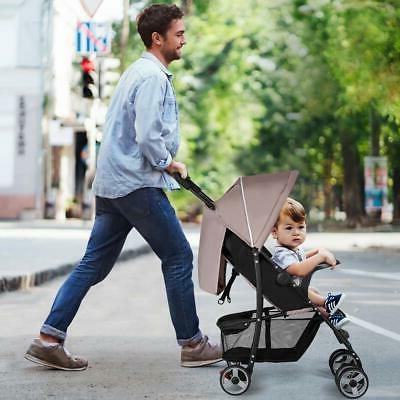 Costzon Foldable Stroller with Safety