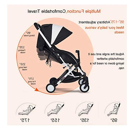 AB Lightweight Foldable Stroller with Safety