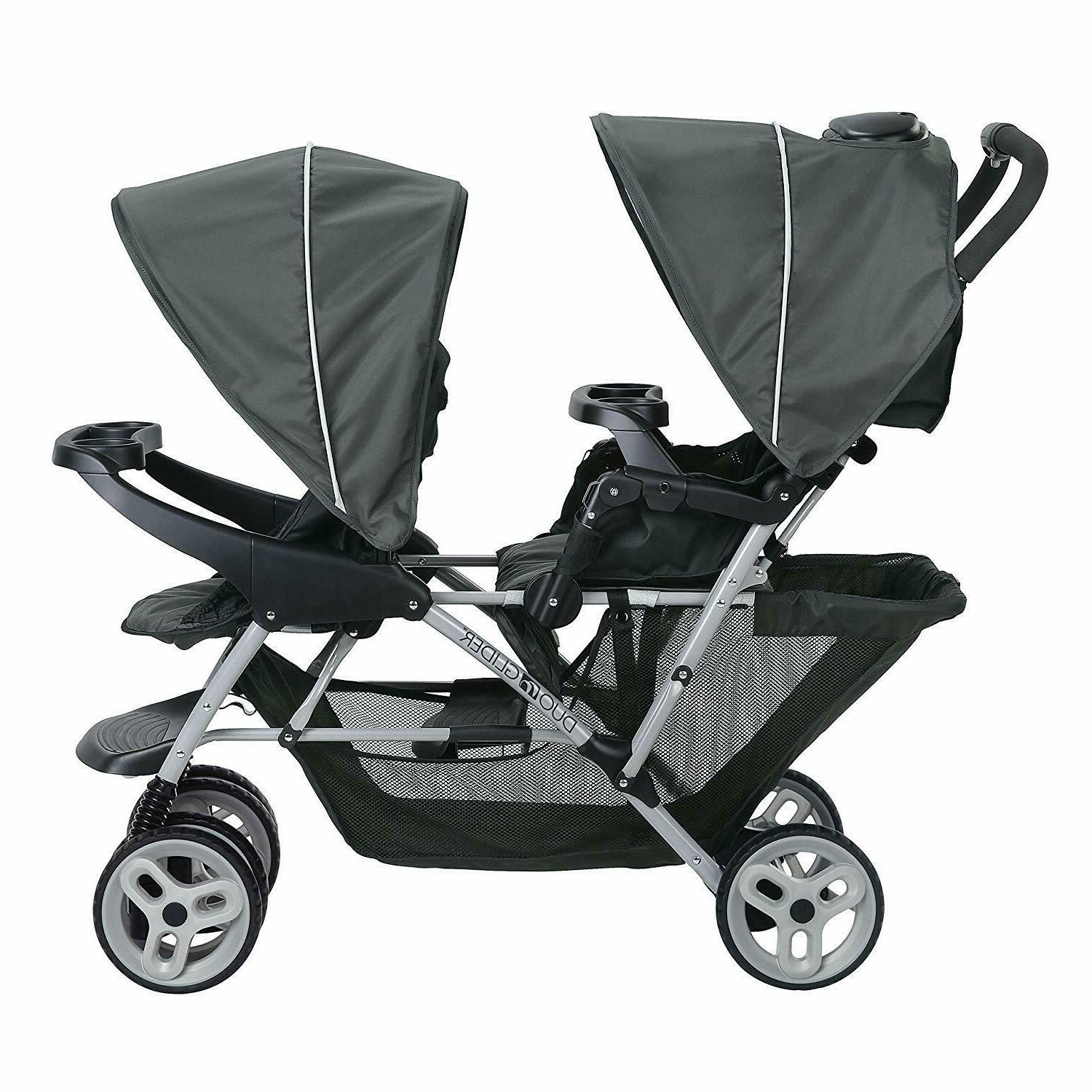 Graco Baby Infant Lightweight Double Stroller Buggy with Tandem Seating