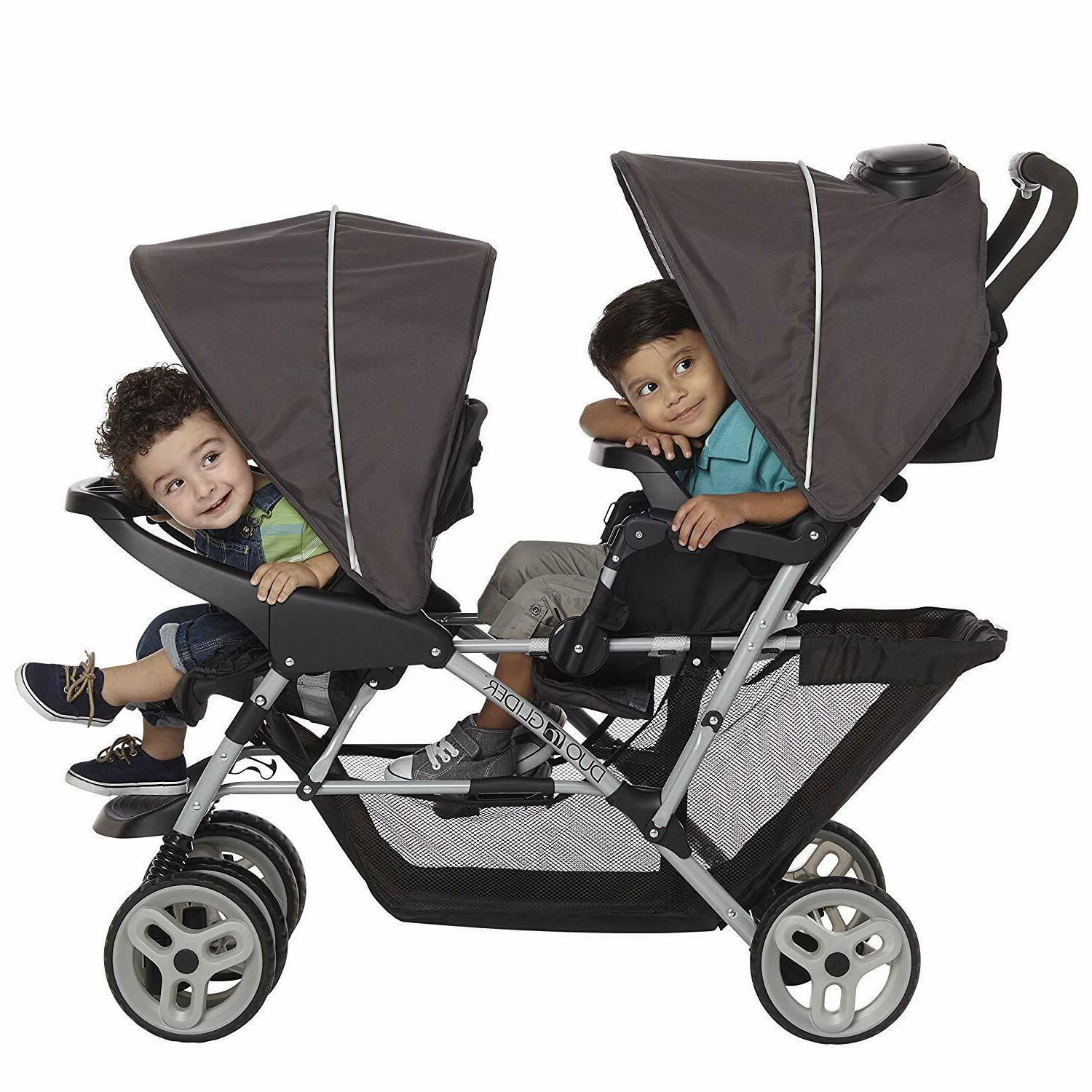 Graco Baby Infant Double Stroller with Seating
