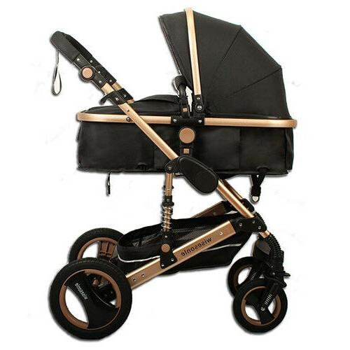 Luxury Baby in Seat For View Folding Carriage
