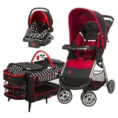 mickey mouse system stroller car