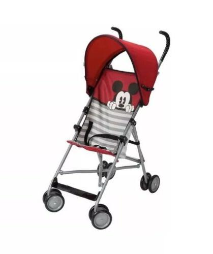 mickey mouse umbrella stroller with canopy red