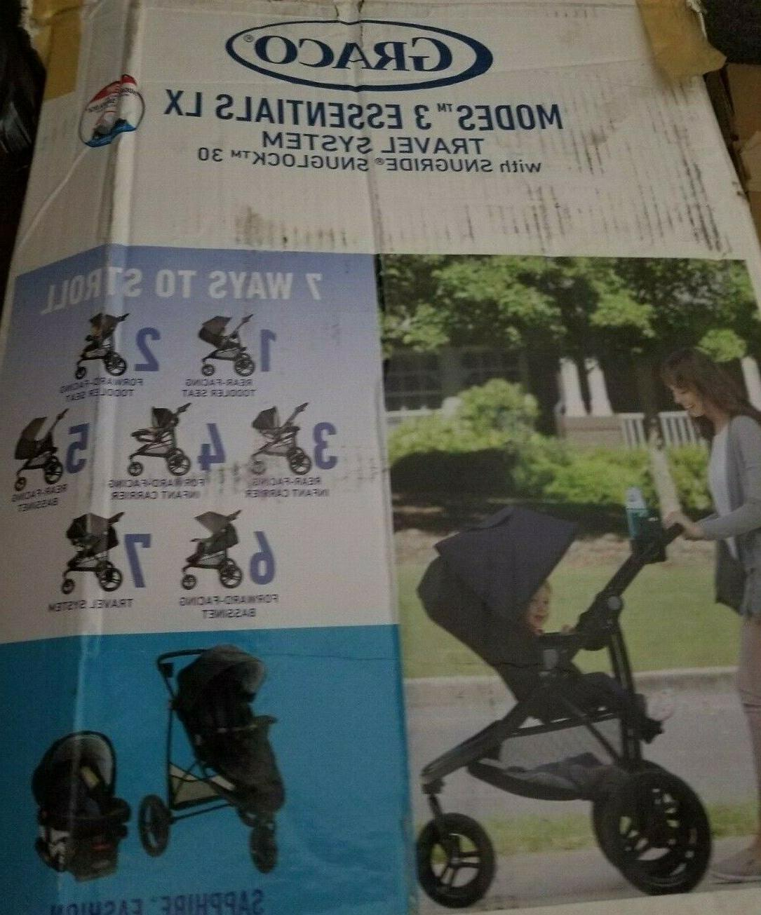 Graco LX Travel System in Sapphire