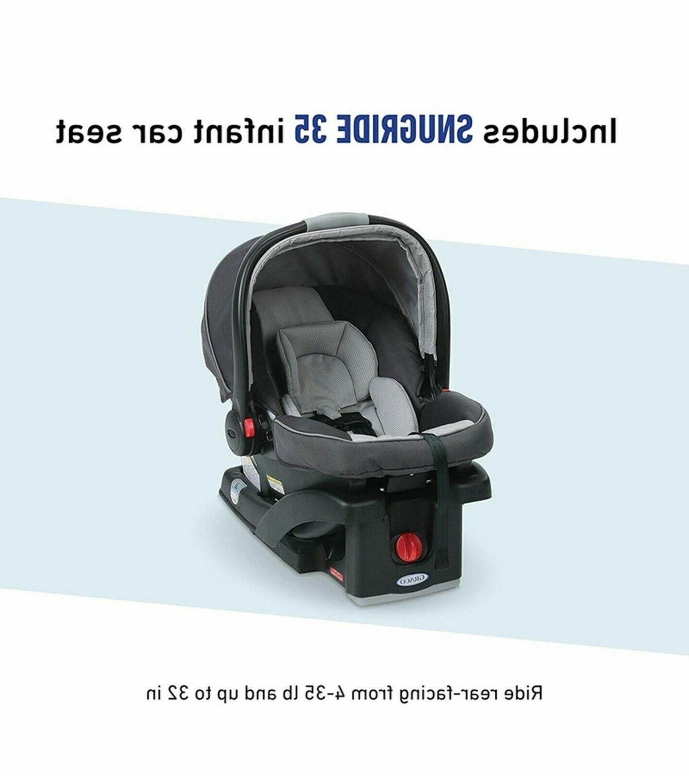 Graco Connect Travel SnugRide Baby Car Seat
