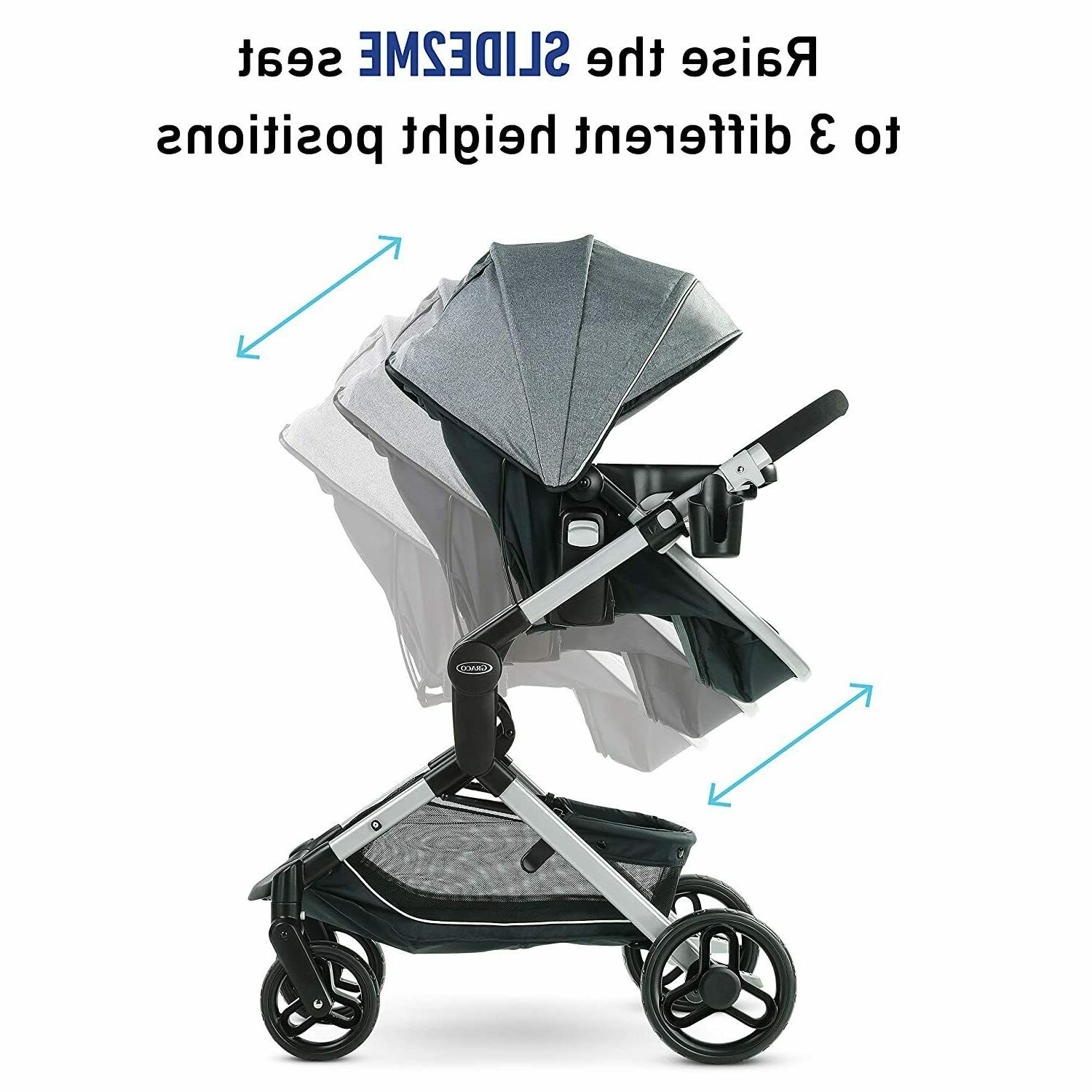 Graco Modes Nest Stroller Adjustable Seat