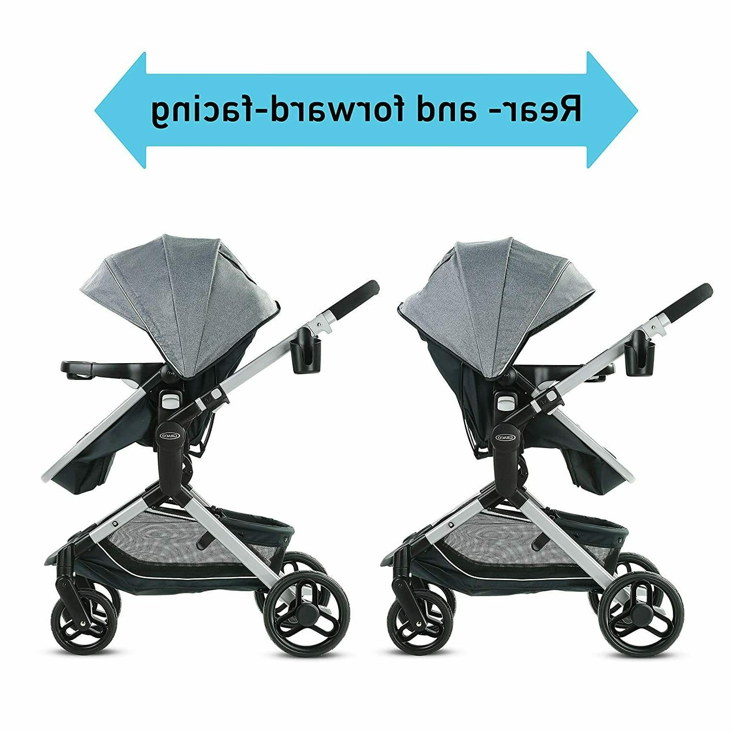 Graco Nest Baby Stroller Height Seat - Spencer