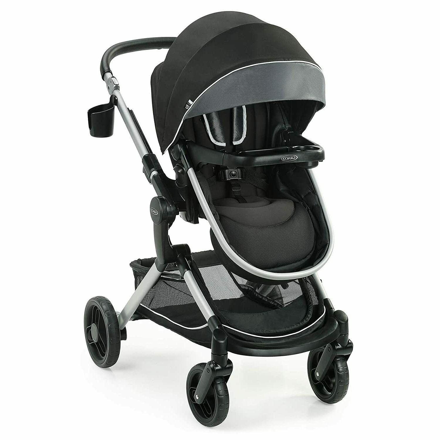 modes nest baby stroller height adjustable reversible