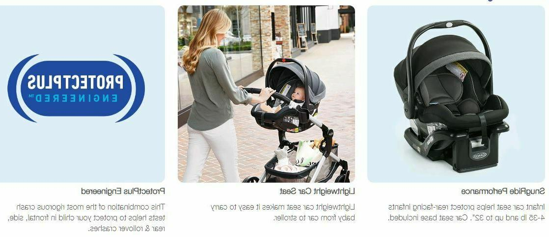 Graco Nest System Stroller with 35 Car