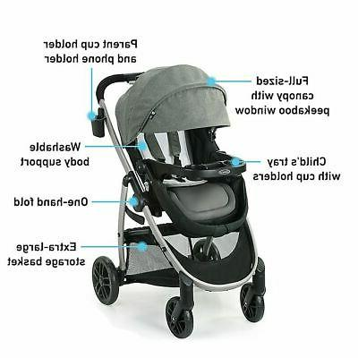 Graco DLX Travel System, Seat - 3 in 1